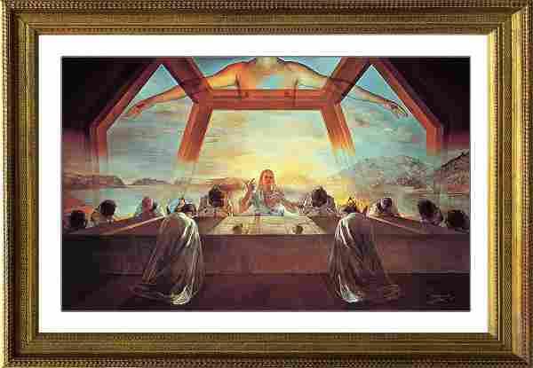 Salvador Dali-Limited Edition Lithograph Last Supper