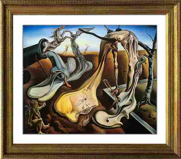 Salvador Dali-Limited Edition Lithograph-Daddy Long