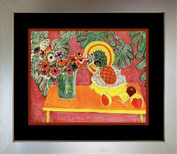 Henri Matisse Color Plate Lithograph from 1969
