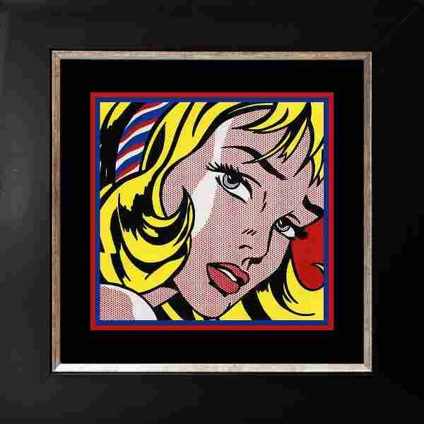 Roy Lichtenstein 1963 Serigraph