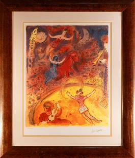 Marc Chagall Limited Edition on paper