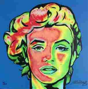 Marilyn Monroe by Zinovy Limited Edition Hand