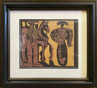Pablo Picasso Lithograph from 1970