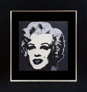 Andy Warhol Lithograph from 1982