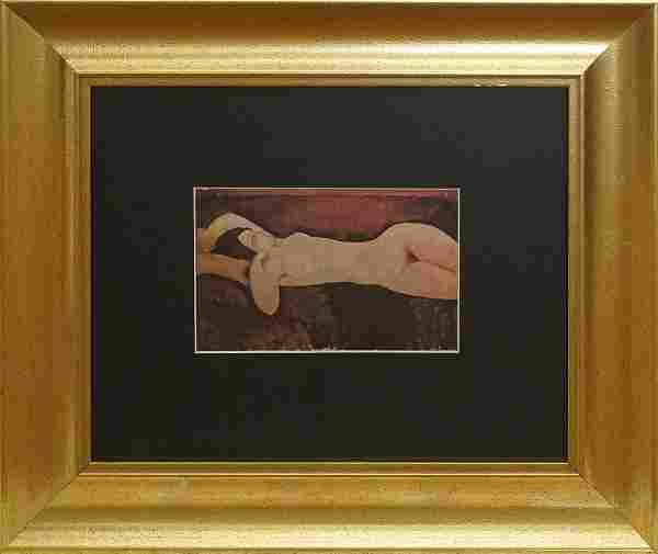 Modigliani Lithograph