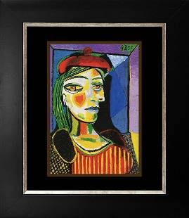 Pablo Picasso Lithograph from the Collection Domaine.