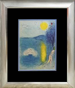 Marc Chagall Llithograph Hand signed