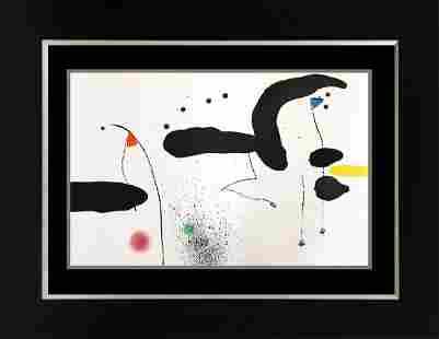 Joan Miro Original Lithograph from 1959