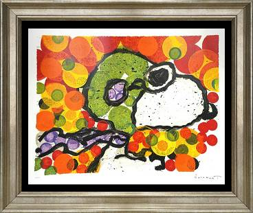 Original Lithograph Tom Everhart Snoopy Limited Edition