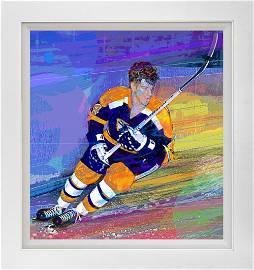 Bobby Orr Boston Bruins   Mixed Media original  David