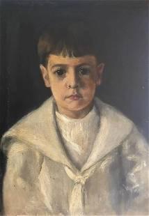 James Carroll Beckwith p original oil on canvas