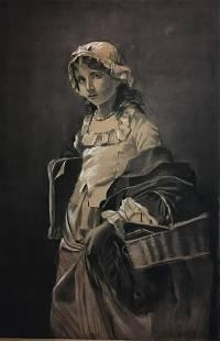 Franz Kruger Pastel on Paper