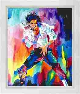 Michael Jackson Mixed media original on canvas by David