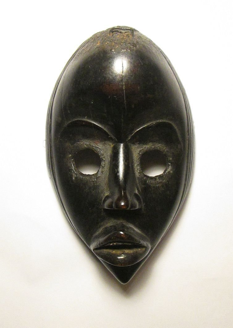 Important Dan African mask Ex Hallet Collection