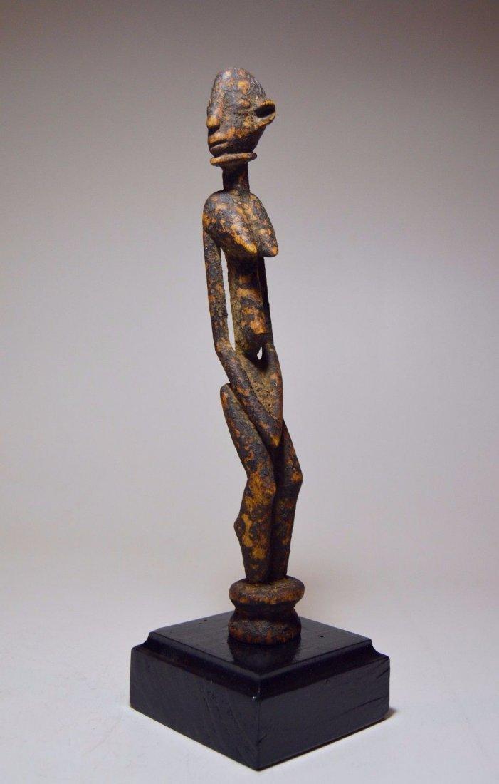 Fine miniature Dogon female shrine figure, African Art