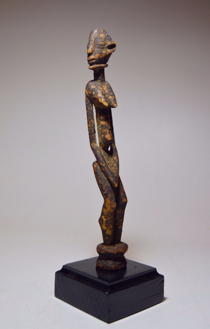 Fine miniature Dogon female shrine figure, African Art