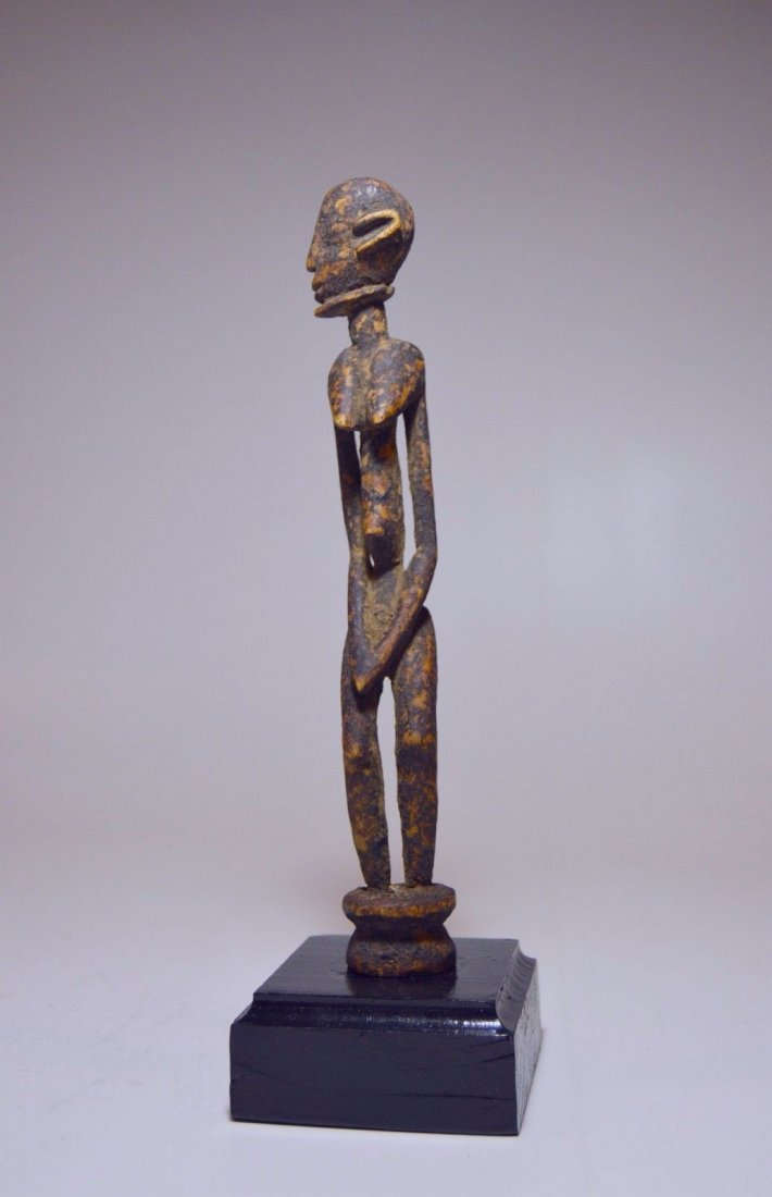 Fine miniature Dogon female shrine figure, African Art - 3