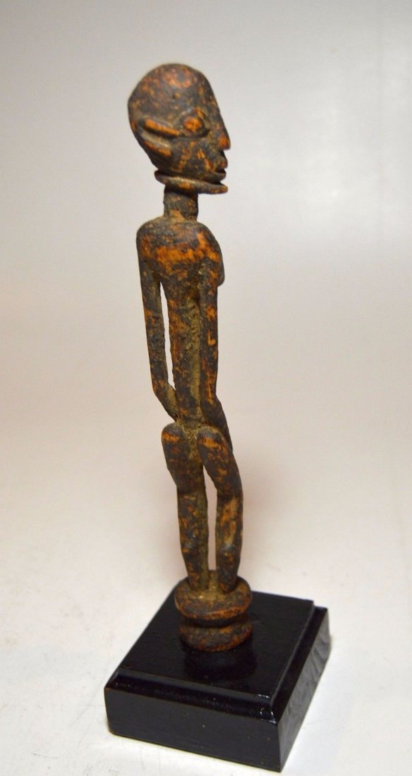Fine miniature Dogon female shrine figure, African Art - 4