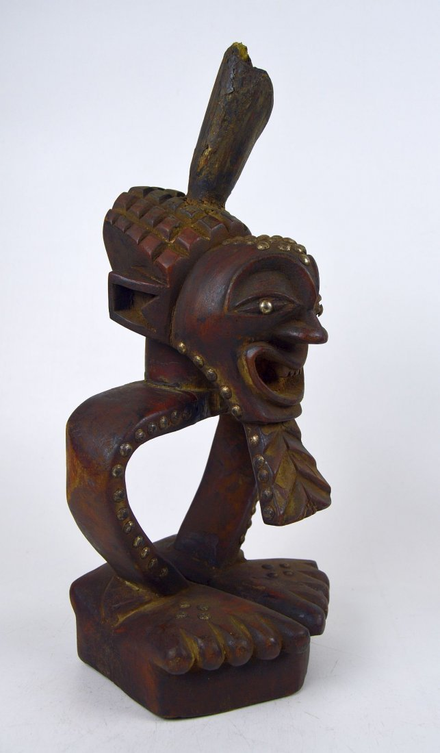 A Highly Stylized Songye African Divination sculpture