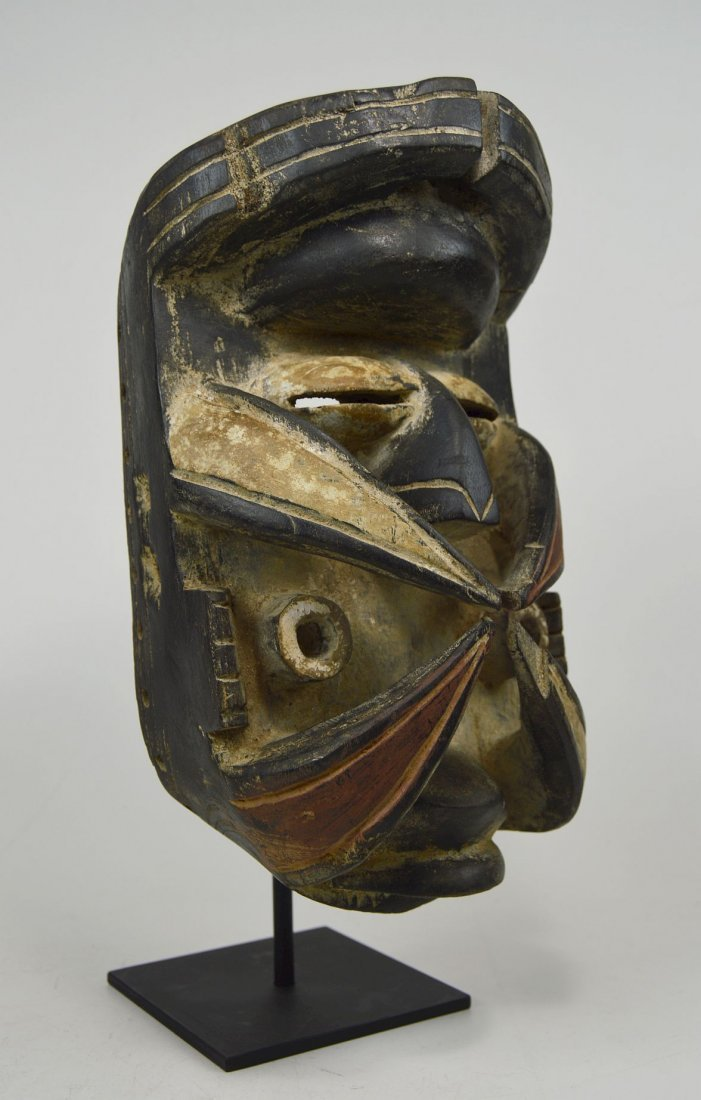 Bold & Powerful Gere peoples Mask, African Art - 3