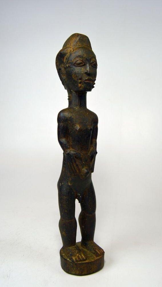 A Fine Baule Blolo Bian Spirit Husband African Art
