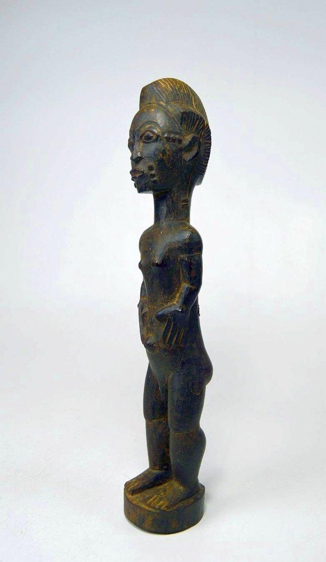 A Fine Baule Blolo Bian Spirit Husband African Art - 3