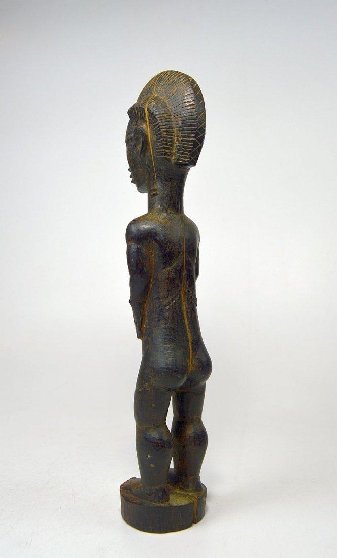 A Fine Baule Blolo Bian Spirit Husband African Art - 5