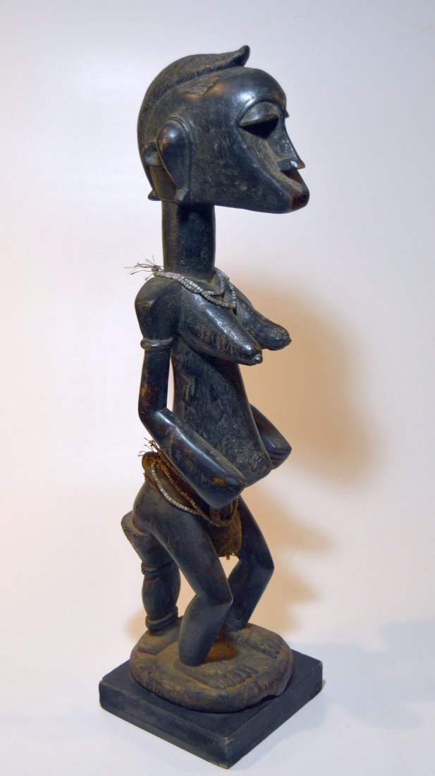 A Fine old Senufo female Ancestor sculpture African Art