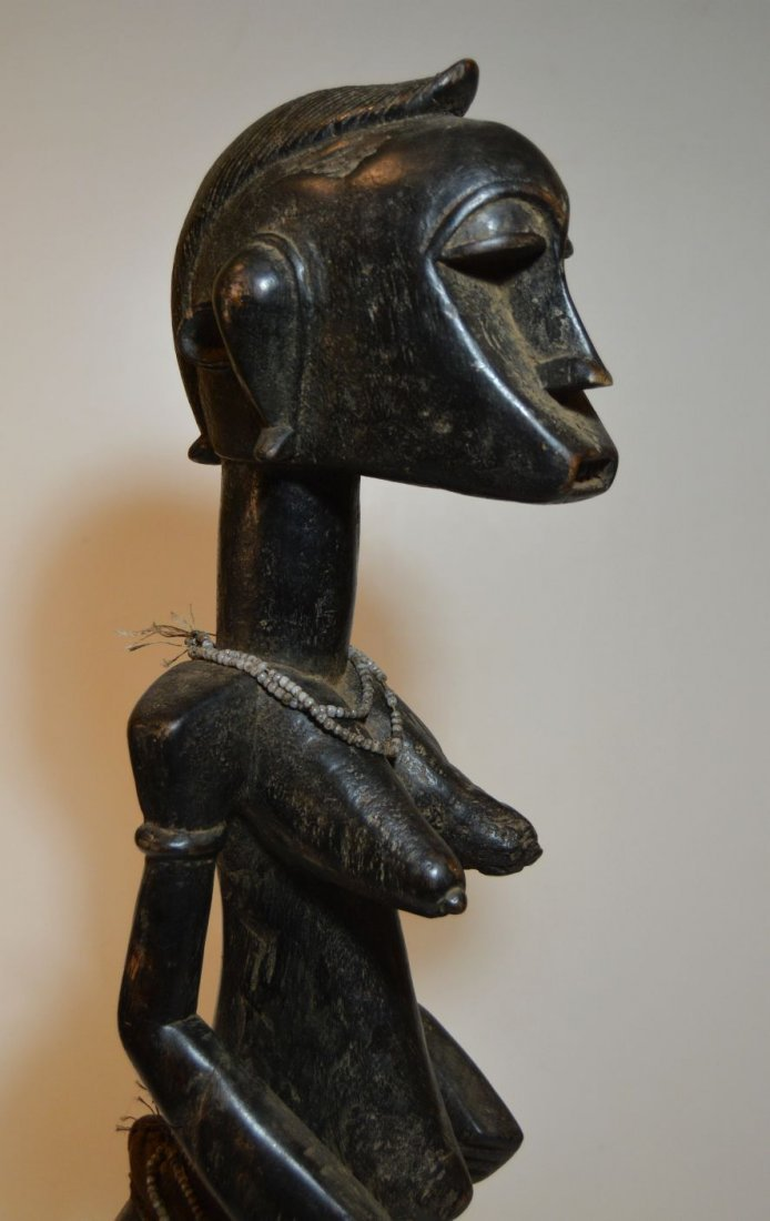 A Fine old Senufo female Ancestor sculpture African Art - 2