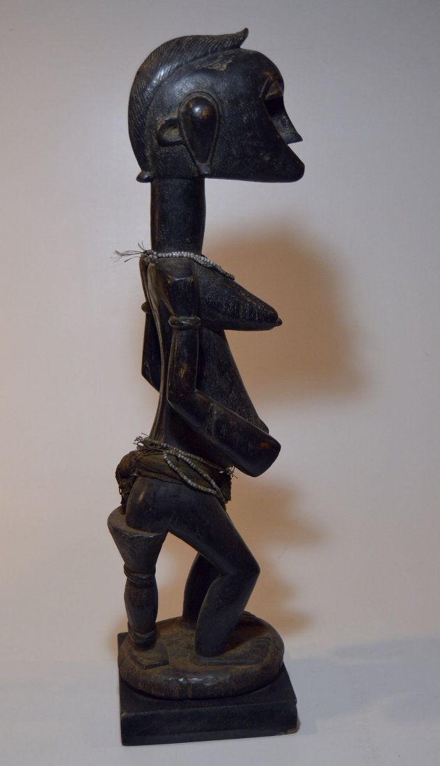 A Fine old Senufo female Ancestor sculpture African Art - 3