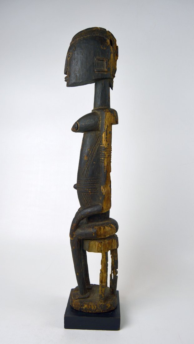 A Very Fine Dogon Female Senou Ancestor Sculpture