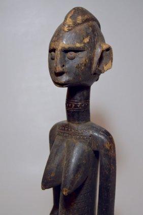 Old Bamana Female Ancestor sculpture African Tribal Art