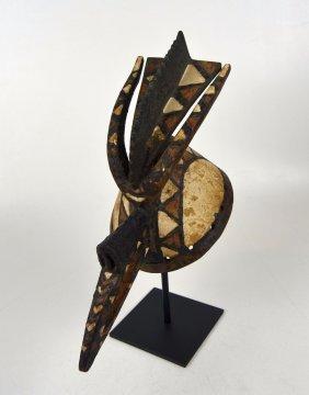 A Fine Mossi Avian Cap mask, African mask,African Art