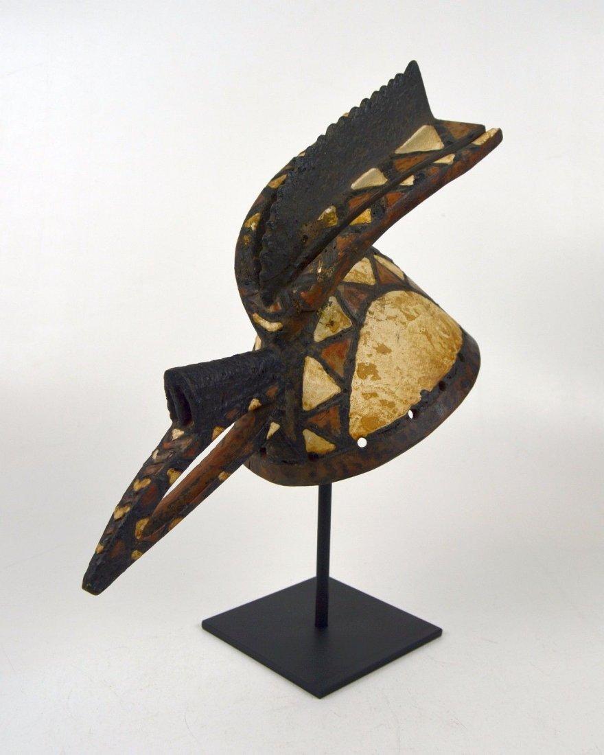 A Fine Mossi Avian Cap mask, African mask,African Art - 3