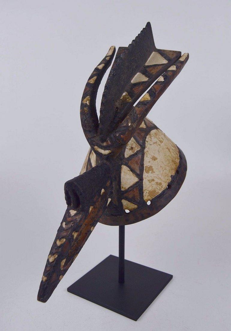 A Fine Mossi Avian Cap mask, African mask,African Art - 4