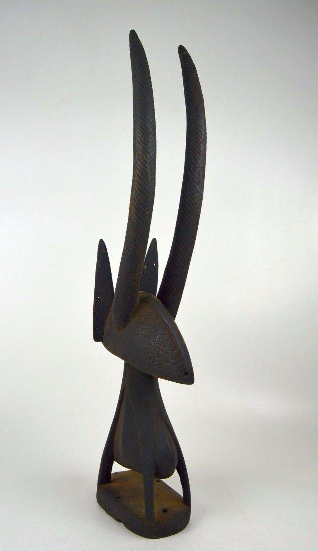 A Fine Bamana Chiwara Antelope headdress, African Art - 3