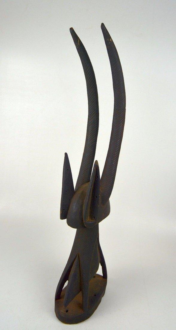 A Fine Bamana Chiwara Antelope headdress, African Art - 5