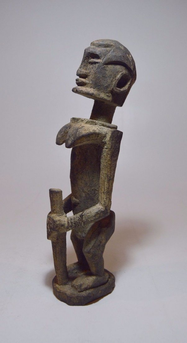 DOGON female ancestor sculpture, African Tribal Art - 3