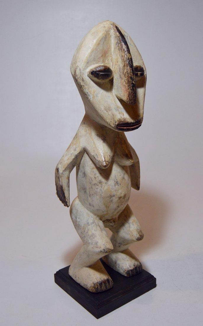 A Fine Lega Female Spirit sculpture, African Tribal Art