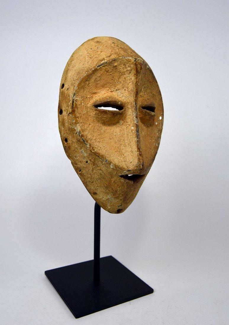 White faced Lega African mask - 2