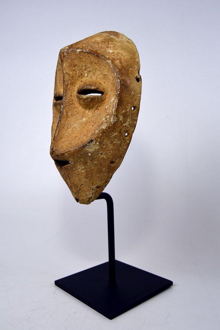 White faced Lega African mask - 3