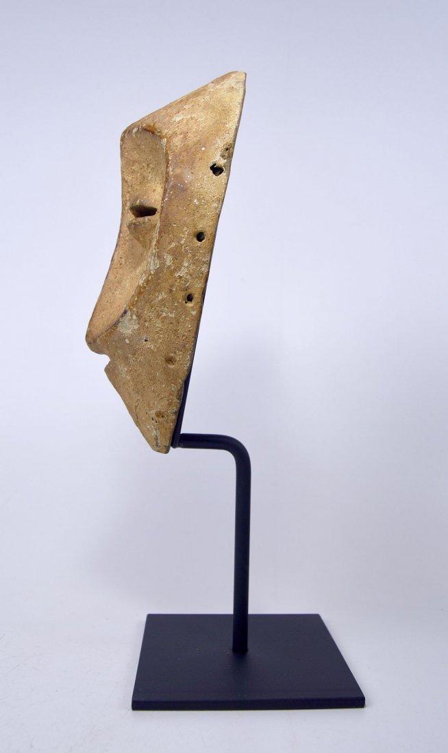 White faced Lega African mask - 4