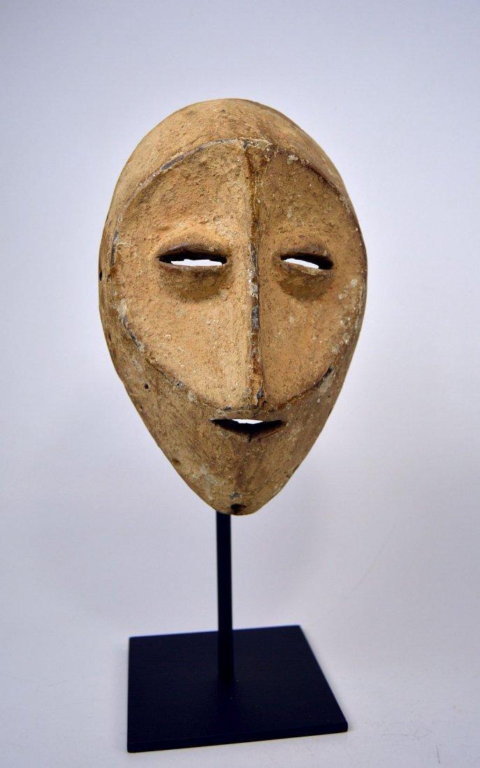 White faced Lega African mask - 5