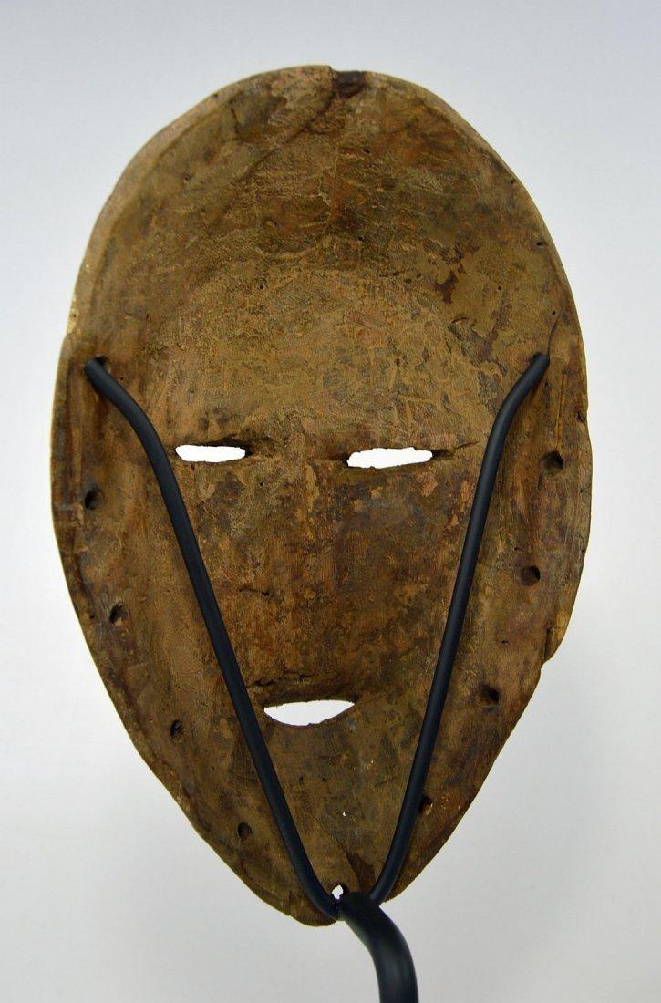 White faced Lega African mask - 6