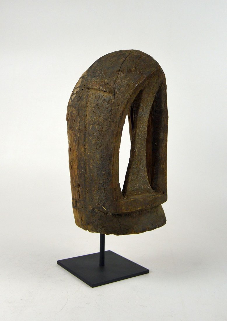 Old Dogon Dege Black Monkey mask, African Art - 2
