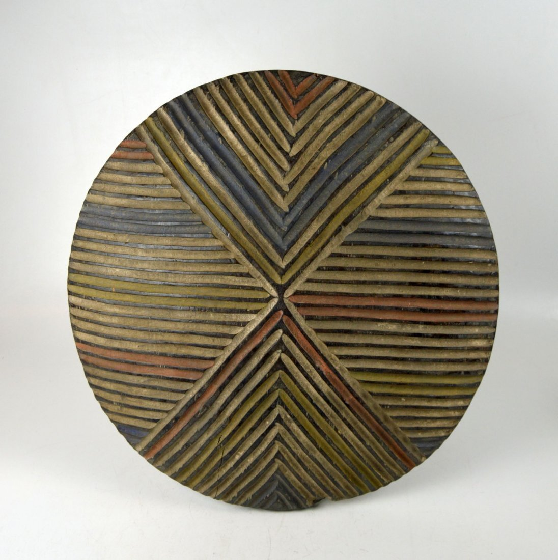 A Colorful Dance shield from Cameroon, African Art