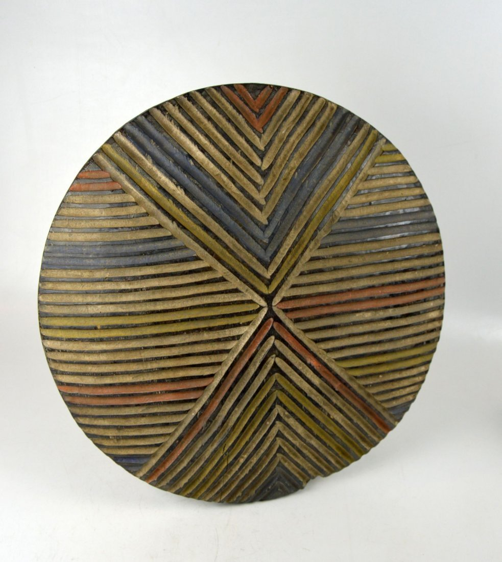 A Colorful Dance shield from Cameroon, African Art - 2