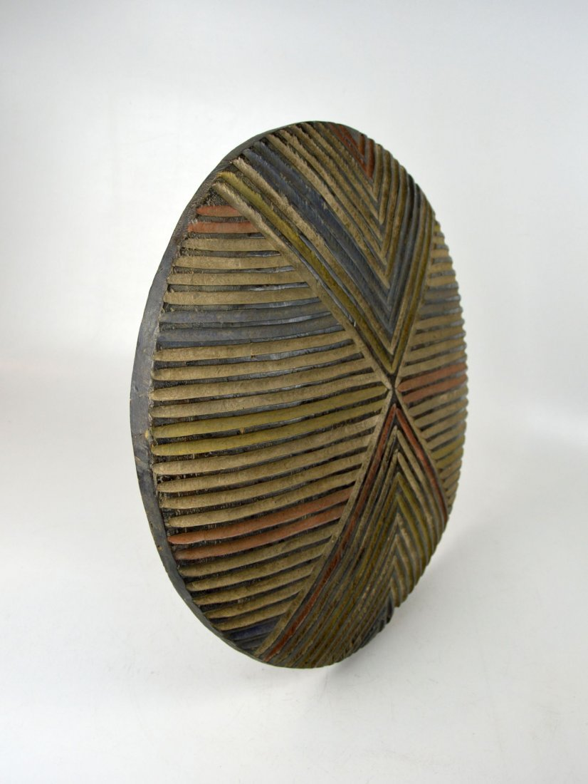 A Colorful Dance shield from Cameroon, African Art - 4