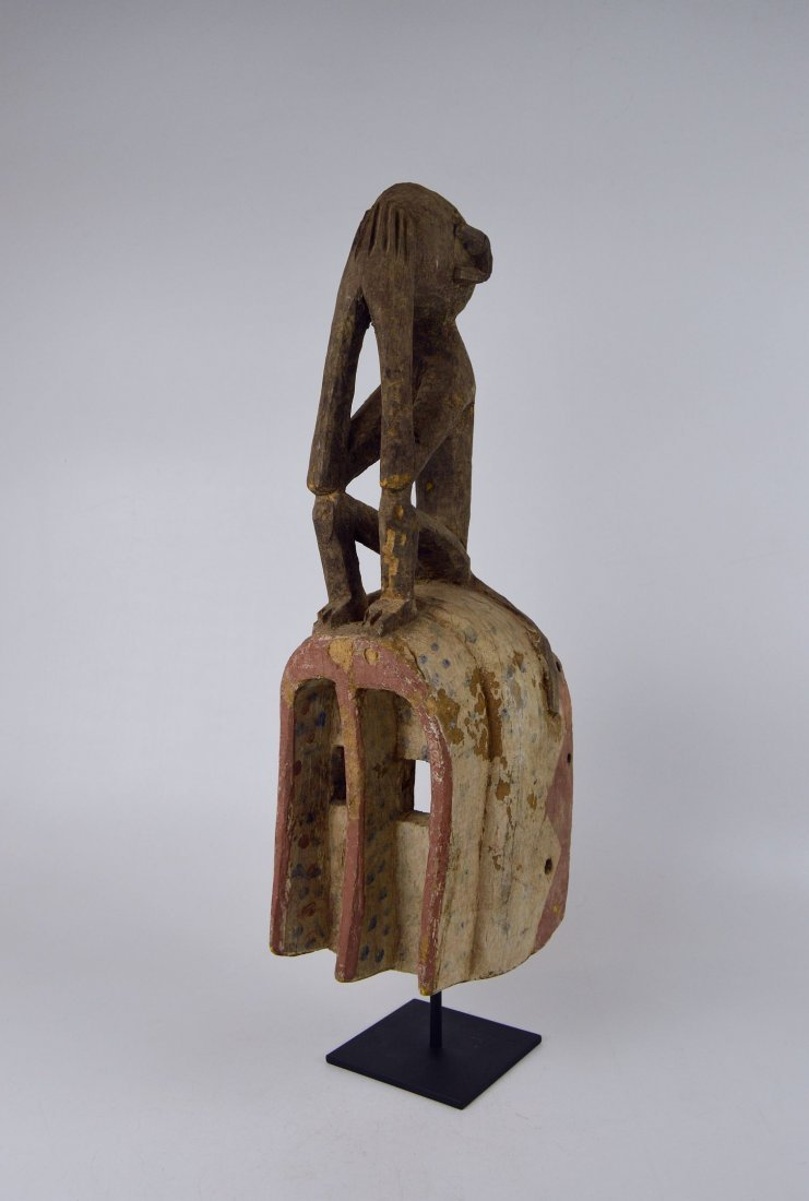 A Fine old Dogon Monkey mask, African Art - 2
