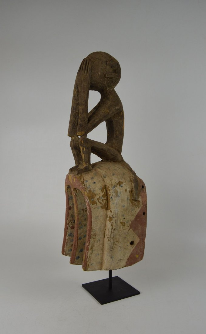 A Fine old Dogon Monkey mask, African Art - 3